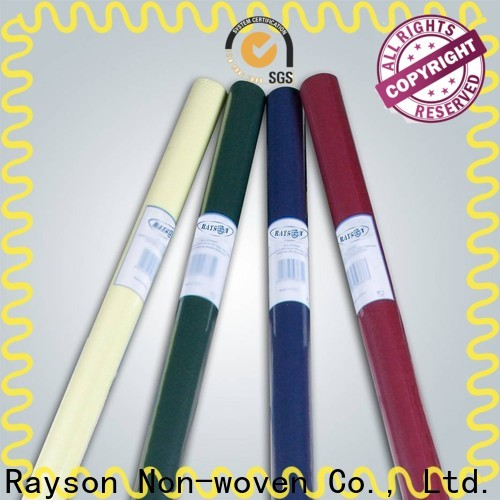 Rayson غير سائبة شراء أفضل غير المنسوجة الأحمر المتاح سماط المورد