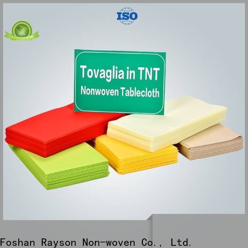 Bulk purchase non woven tnt tablecloth in bulk
