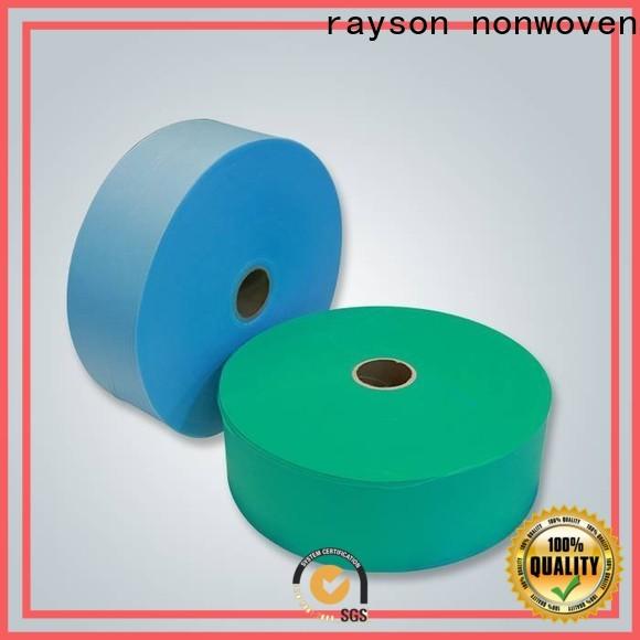 Azienda di feltro poliestere non tessuto non tessuto rayson
