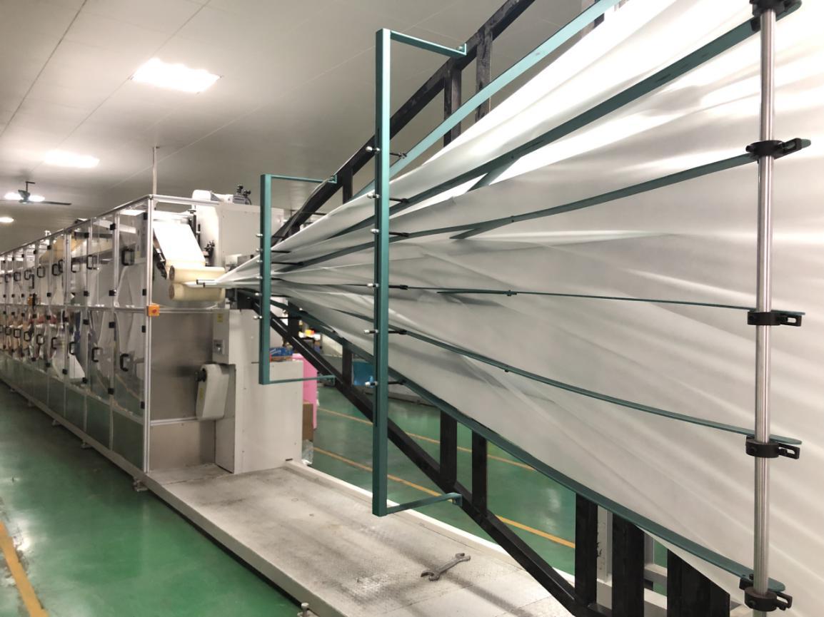 news-rayson nonwoven-Rayson Non Woven Company Adds Fully Automatic Folding Machine For Non-woven She