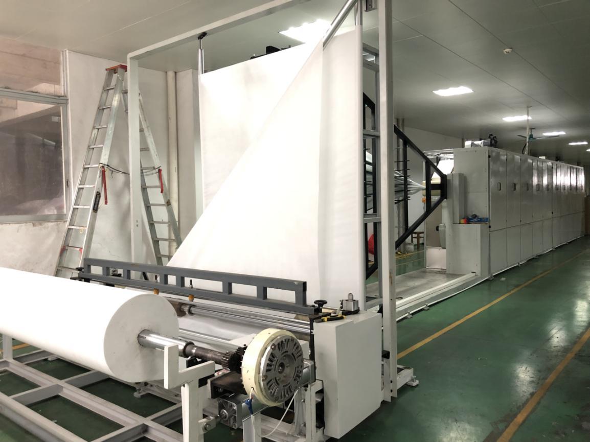 news-Rayson Non Woven Company Adds Fully Automatic Folding Machine For Non-woven Sheet-rayson nonwov-1