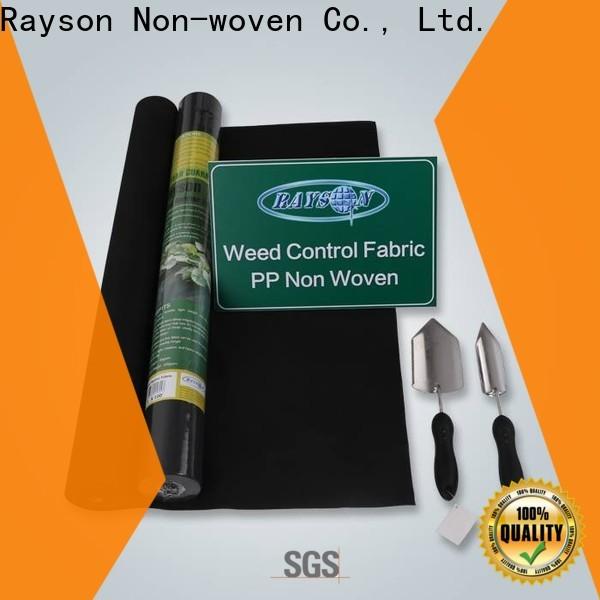Fornitore di tessuti per feltri Giardino non tessuto Rayson