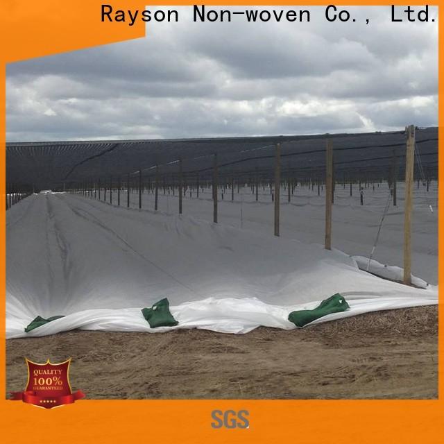 Rayson não tecido permeável de tecido de paisagem fábrica