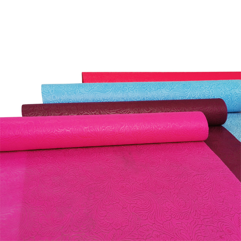 product-Oem China supplier flower wrapping material embossed non woven fabric in diversity colors Fo