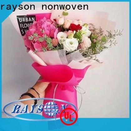 Rayson a granel comprar tecido de polipropileno de alta qualidade 25gsm preço