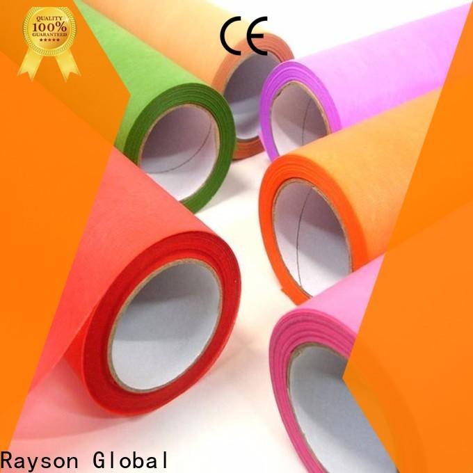 Rayson não tecido spunbond polipropileno tecido para venda Price