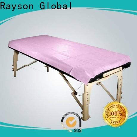 Rayson محبوكة OEM جودة عالية غير المنسوجة ورقة التدليك مجموعات بالجملة الصانع
