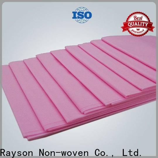 rayson nonwoven Custom OEM non woven fabric lamination supplier