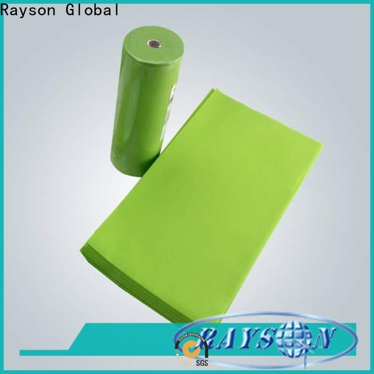 Rayson nonwoven spunbond tecido de polipropileno para venda fábrica