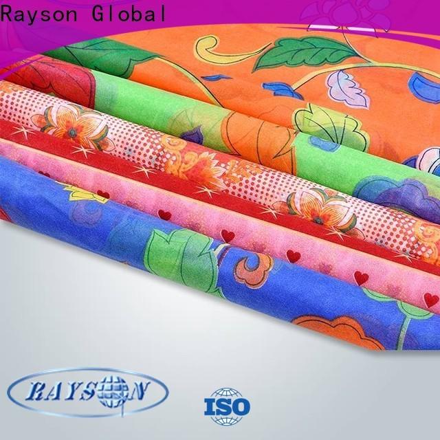 Rayson Vlies Rayson Bulk Kauf ODM Nicht gewebt Stoff Rohstoff Hersteller