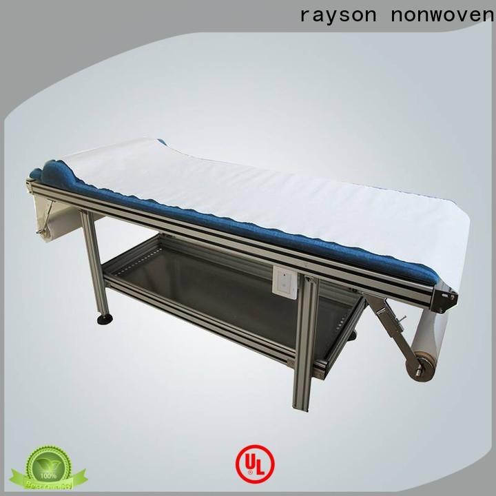 Rayson nonwoven hospital lençóis descartáveis fornecedor