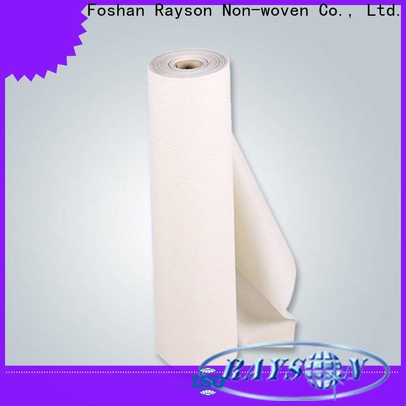 Rayson Nonwoven Rayson OEM No tejido Tela de Polypropileno Precio al por mayor
