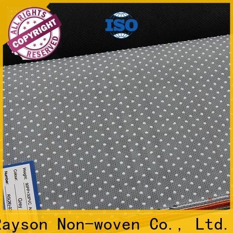 Rayson nonwoven rayson الجملة مخصص غير المنسوجة النسيج المواد الخام الصانع