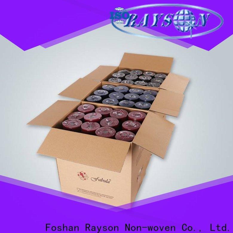 Rayson Vlies Rayson OEM Best Whoven TNT Stoff Tischdecke Hersteller