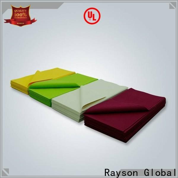 Rayson Vlies Rayson Großhandel OEM TNT Vliesstoff Tischdecke in der Masse