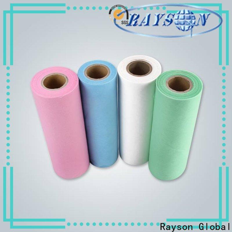 Rayson Nonwoven Rayson Atacado Alta Qualidade Nonwoven Bed Sheets Fabricante
