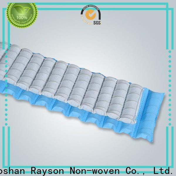 رايسون محبوكة مخصص جودة عالية نسيج مصنع غير المنسوجة