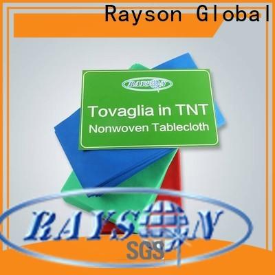 Rayson Vlies Günstige Einweg-Tischdecke Firma