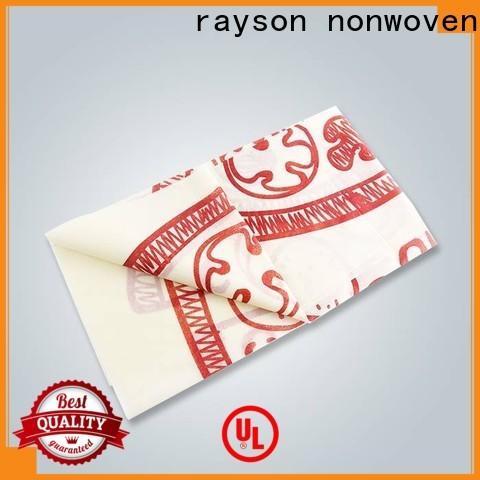 Rayson Nonwoven Rayson جودة عالية مفاتيح غير المنسوجة مع شعار الشركة المصنعة