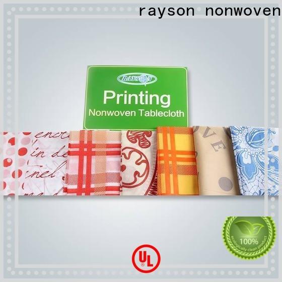 Rayson ODM محبوكة تخصيص الجدول القماش الصانع
