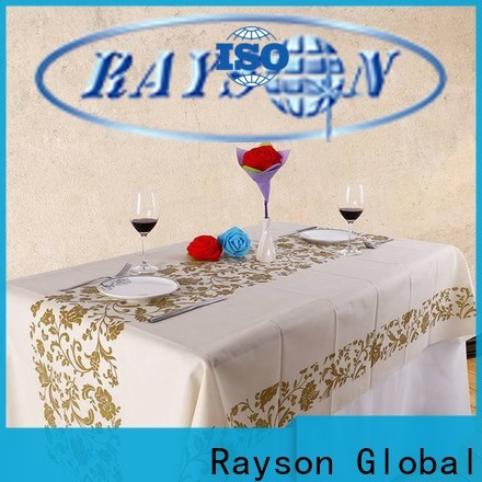 Rayson Vlies-Bulk-Kauf benutzerdefinierte Vlies-Tisch-Tuch in Großmengen