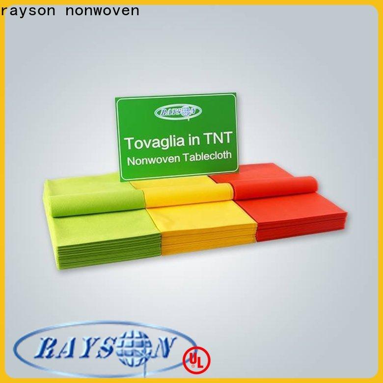 Rayson no tejido TNT Mantel no tejido proveedor