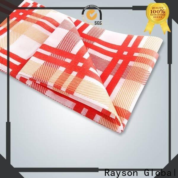 Rayson Vlies Rayson OEM Nonwoven gedruckte Tischdecken Preis