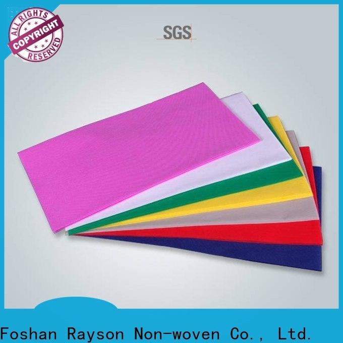 Rayson Nonwoven Rayson Bulk Compra ODM TNT TAPA TABLE PRECIO PRECIO