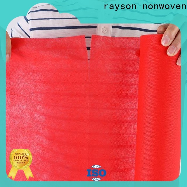 Rayson Nonwoven Rayson Custom TNT Nonwoven Tela Tela Fabricante