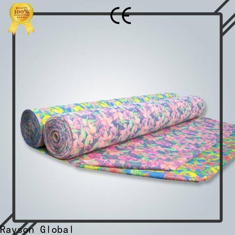 Rayson Nonwoven Bulk Compra Alta Calidad No tejido Desechable Tabla personalizada Cubiertas a granel