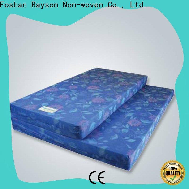 Rayson no tejido al por mayor de ODM costo del proveedor de rollos de tela no tejida