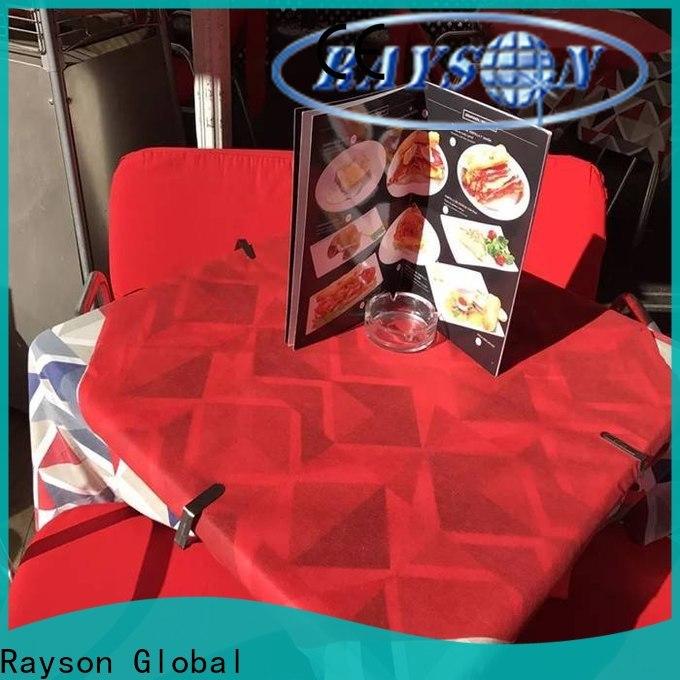 Rayson Nonwoven TNT Tela de tela no tejida de tela a granel
