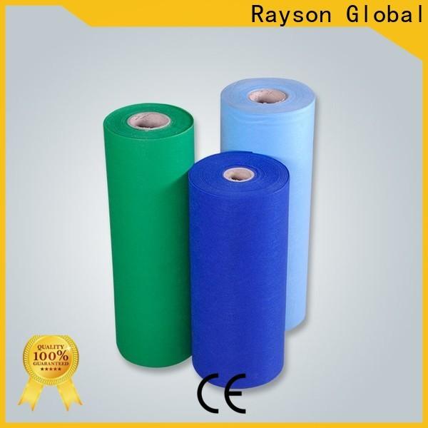 Rayson no tejido gris plástico mantel proveedor