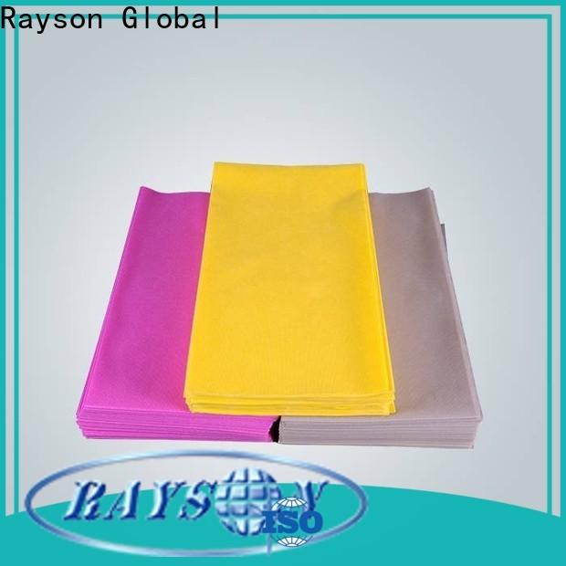 Rayson Nonwoven TNT Nonwoven Paño de mesa a granel