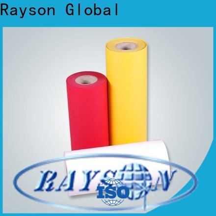 Rayson Bulk Compra Fábrica de tela no tejida de Polyester Spunbond
