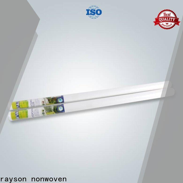Rayson Nonwoven Rayson Odm محبوكة أفضل مصنع النسيج الحشائش