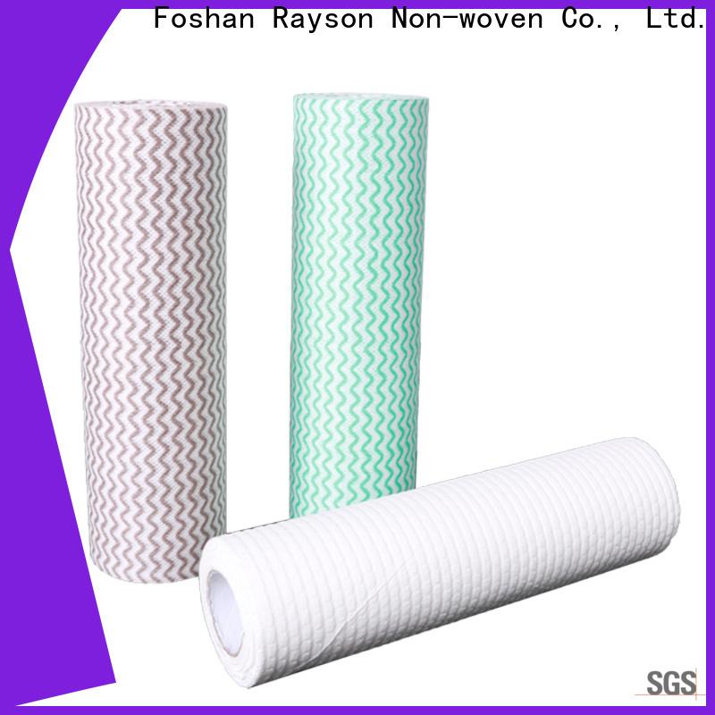 Rayson no tejido personalizado personalizado tela no tejida proveedores fábrica