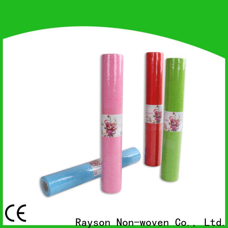 Rayson Voven-Großhandel OEM Vlies-Polyesterstoff-Hersteller-Unternehmen