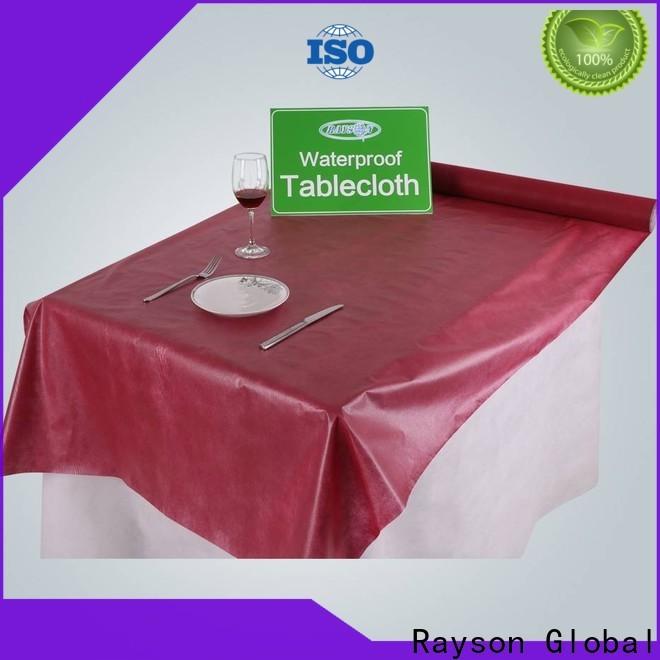 Rayson Vlies-Rayson Vlies-Einweg-Partei-Tischdecke in der Masse