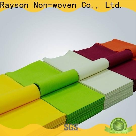 Rayson Nonwoven-Rosa-Einweg-Tischdecke Firma