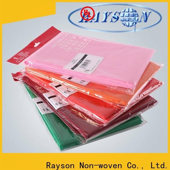 Rayson Vlies-Bulk-Kauf OEM Vlies-Einweg-Weihnachtstisch-Tuch Preis