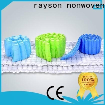 Rayson محبووف مخصص OEM غير المنسوجة البولي بروبيلين سبونبوند النسيج السعر