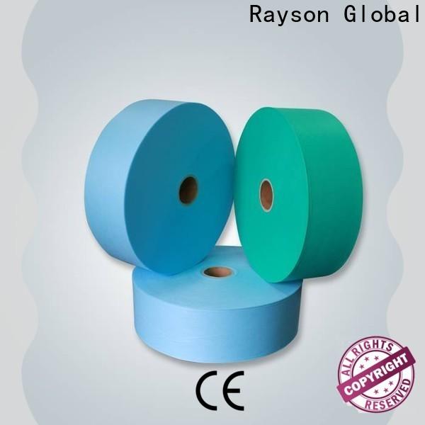 Rayson Nonwoven Tela de Polypropileno Personalizado 25GSM Price