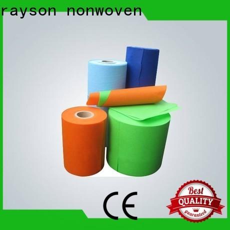 Rayson no tejido ODM PP hilado de tela no tejida unida a granel