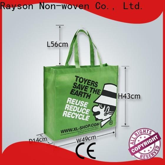 Rayson Nonwoven Personalizado de alta calidad de alta calidad de tejido de polietileno. Precio
