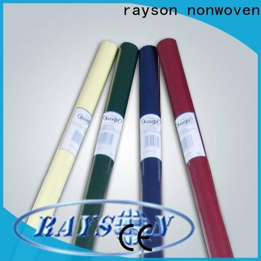 Rayson Nonwoven ODM El mejor mantel no tejido, fabricante de mantel no tejido