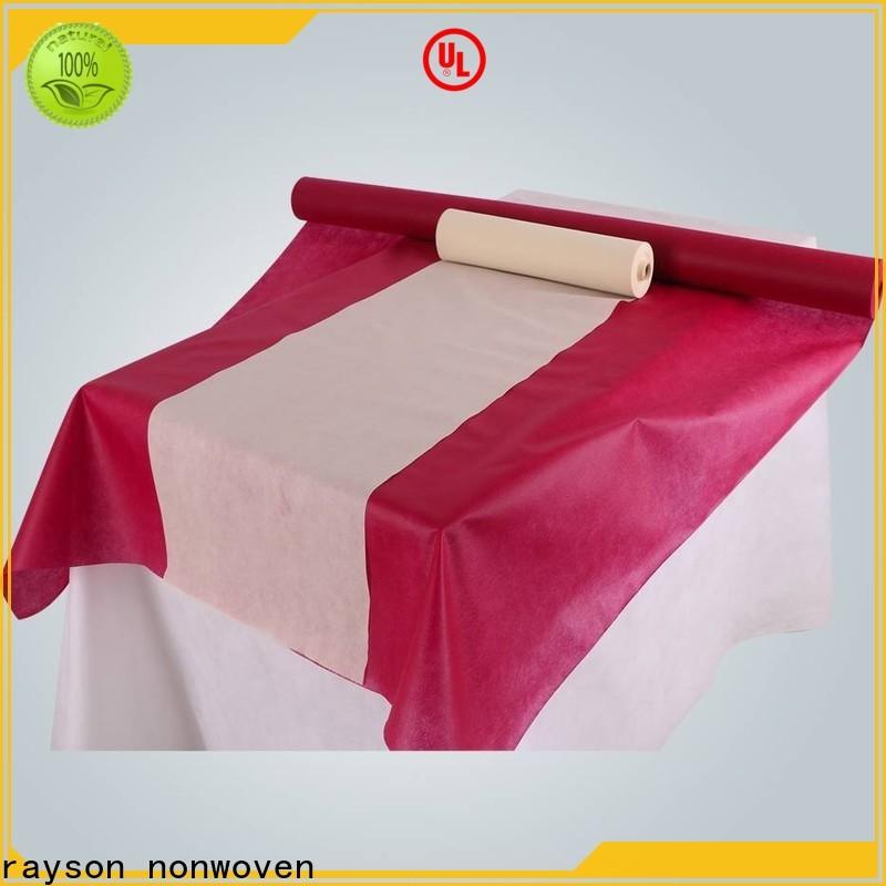 Compra a granel ODM no tejido mantel desechable rosa precio Price