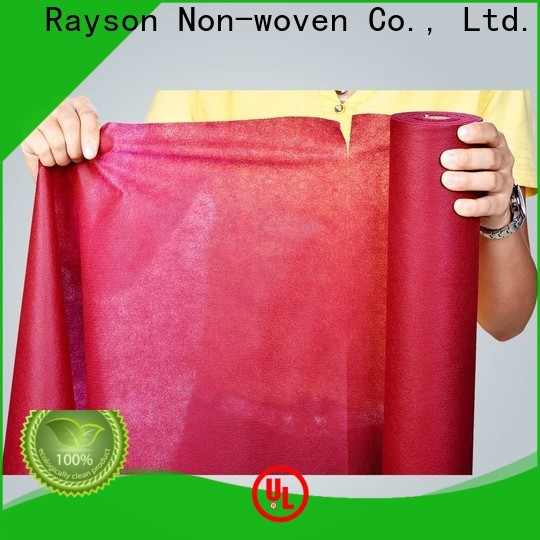Rayson Nonwoven Rayson Mejor Cubierta de mesa desechable no tejida no tejida Fabricante