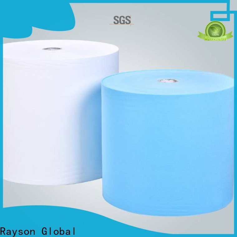 Rayson غير المنسوجة Spunbond Polypropylene المصنعة