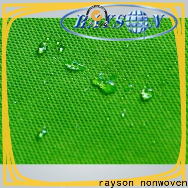 Fibras hidrofílicas no tejidas de Rayson Compañía de tela no tejida